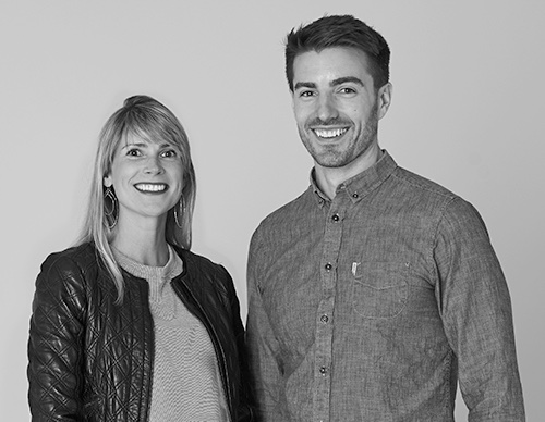 Chris Haskett and Darina Wallace the Co-founders of ShortStitch